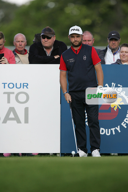 Andy Sullivan (ENG) during Wednesday's Pro-Am ahead of the 2016 Dubai Duty Free Irish Open Hosted by The Rory Foundation which is played at the K Club Golf Resort, Straffan, Co. Kildare, Ireland. 18/05/2016. Picture Golffile | TJ Caffrey.<br /> <br /> All photo usage must display a mandatory copyright credit as: &copy; Golffile | TJ Caffrey.