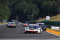 #117 KUS TEAM75 BERNHARD (DEU) PORSCHE 911 GT3 R EARL BAMBER (NZL) TIMO BERNHARD (DEU) LAURENS VANTHOOR (BEL)