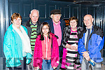 Breda and John Buckley, Vin Luan, Tom and Eilish Walsh, John Twomey  at the All star concert in the River Island Hotel Castleisland at the Padraig O'Keeffe festival on Sunday