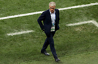 MOSCU - RUSIA, 15-07-2018: Didier DESCHAMPS técnico de Francia durante partido por la final contra de Croacia de la Copa Mundial de la FIFA Rusia 2018 jugado en el estadio Luzhnikí en Moscú, Rusia. / Didier DESCHAMPS coach of France during match of the final against Croatia for the FIFA World Cup Russia 2018 played at Luzhniki Stadium in Moscow, Russia. Photo: VizzorImage / Cristian Alvarez / Cont