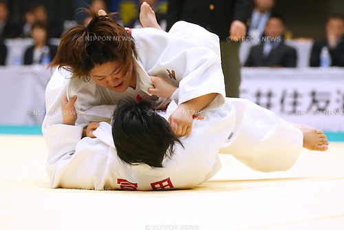 Megumi Tachimoto, APRIL 19, 2015 - Judo : The 30th Empress Cup All Japan Women's Judo Championships Open category at Yokohamabunka Cultural Gymnasium, Kanagawa, Japan. (Photo by Sho Tamura/AFLO SPORT) [1180]