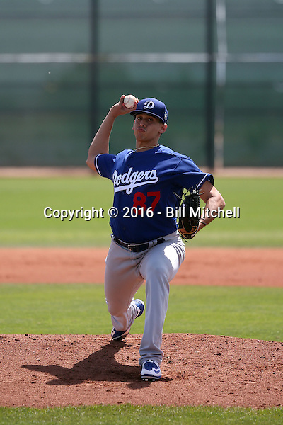 Jose De Leon - Los Angeles Dodgers 2016 extended spring training (Bill Mitchell)