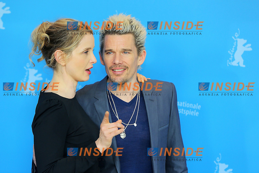 Julie Delpy, Ethan Hawke. Berlin 11/02/2013. 63th Berlinale 'Before Midnight' photocall. foto Mark Cape/Insidefoto