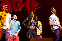 X Factor winner Alexandra Burke plays The Girl Guiding UK Big Gig 2012 at the LG Arena, Birmingham, UK. .31st March 2012