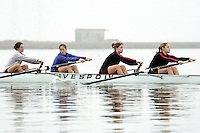 REDWOOD SHORES, CA - JANUARY 2002:  The Stanford Cardinal team during practice in January 2002 in Redwood Shores, California.