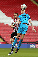 Jack Taylor of Barnet and Mark Duffy of Sheffield United during Sheffield United vs Barnet, Emirates FA Cup Football at Bramall Lane on 6th January 2019