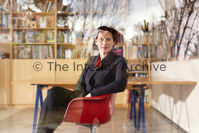 A portrait of Dutch architect Francine Houben