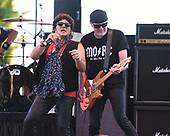 MIAMI, FL - NOVEMBER 04: Terry Ilous and Mark Kendall of Great White perform at The Magic City Casino on November 4, 2017 in Miami, Florida. Credit Larry Marano © 2017