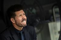 Atletico de Madrid´s coach Diego Pablo Cholo Simeone during La Liga match. February 1, 2020. <br /> (ALTERPHOTOS/David Jar)<br /> 01/02/2020 <br /> Liga Spagna 2019/2020 <br /> Real Madrid - Atletico Madrid  <br /> Foto Alterphotos / Insidefoto <br /> ITALY ONLY