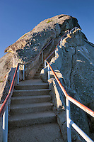 Stairs up Moro Rock. Sequoia National Park, California