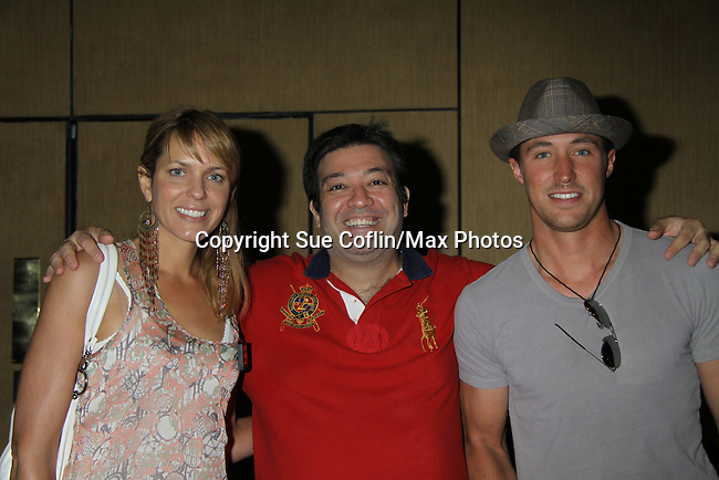 Days Of Our Lives Arianne Zuker is a presenter and poses with Kyle Lowder and Sean Brady at the 38th Annual Daytime Entertainment Emmy Awards 2011 held on June 19, 2011 at the Las Vegas Hilton, Las Vegas, Nevada. (Photo by Sue Coflin/Max Photos)