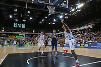 GB's Devan Bailey during the EuroBasket 2015 2nd Qualifying Round Great Britain v Bosnia & Herzegovina (Euro Basket 2nd Qualifying Round) at Copper Box Arena in London. - 13/08/2014