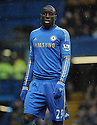 Demba Ba of Chelsea in action during the Barclays Premiere League match between Chelsea and West Ham United at Stamford Bridge on Sunday March 17, 2013 in London, England Picture Zed Jameson/pixel 8000 ltd.