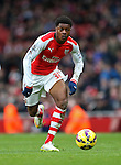 Arsenal's Chuba Akpom in action<br /> <br /> Barclays Premier League - Arsenal vs Aston Villa - Emirates Stadium  - England - 1st February 2015 - Picture David Klein/Sportimage