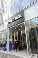 The Diesel jeans shop in Tokyo, Japan..