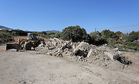 Pictured: The new plot of land where a new search will take place in Kos, Greece. Thursday 06 October 2016<br />