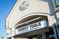 Direct Tools Factory Outlet is pictured in Tanger Outlets in Sevierville,  Tennessee Thursday March 20, 2014.