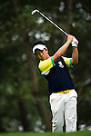 Masamichi Ito of Japan tees off during the 2011 Faldo Series Asia Grand Final on the Faldo Course at Mission Hills Golf Club in Shenzhen, China. Photo by Victor Fraile / Faldo Series