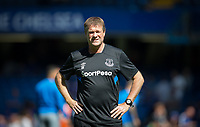 Everton Assistant Manager Erwin Koeman (brother of manager Ronald) during the Premier League match between Chelsea and Everton at Stamford Bridge, London, England on 27 August 2017. Photo by Andy Rowland.