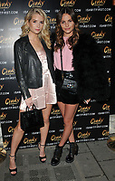 Lottie Moss and Emily Blackwell at the Wolfie Ciny x I Saw It First Christmas 2017 Collection launch party, Tape London, Hanover Square, London, England, UK, on Wednesday 08 November 2017.<br /> CAP/CAN<br /> &copy;CAN/Capital Pictures