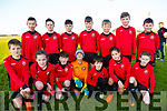 The Tralee Dynamos U12 team who played Brendans park FC on Saturday last. Front kneeing l-r, Rory O&rsquo;Halloran, Molly Duggan, Adam Evans, Rivas Mchugh, Matthew Rogers, Shay Kelliher and Pierce Louth.<br /> Back l-r, Brendan Long, Luke Suits, Jake Hoare, Derek Corridon, Shane Stack, Paddy McMahon and Javen Carey.