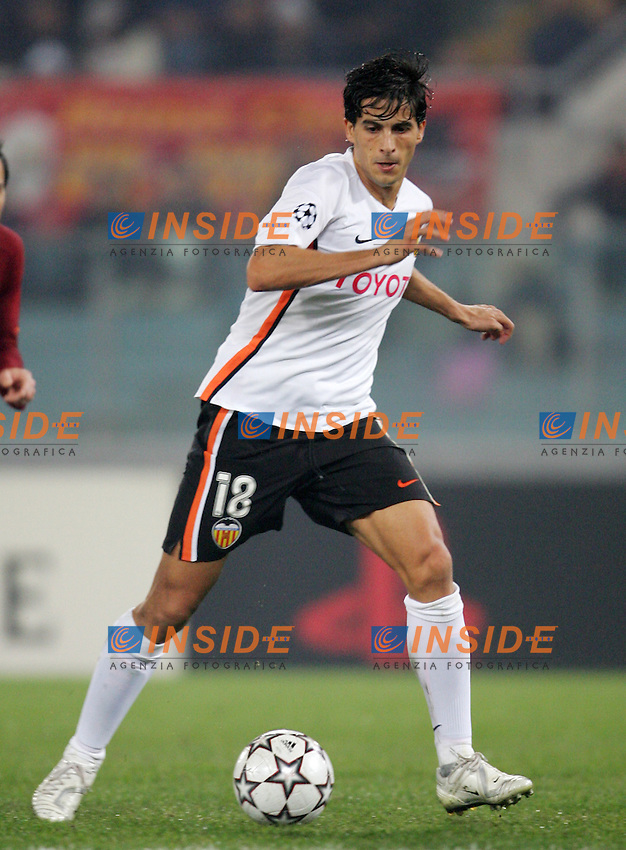 Jorge Lopez (Valencia)<br /> Champions League 2006-2007<br /> 5 Dec 2006 (Group Stage, group D, Match Day 6)<br /> Roma - Valencia (1-0)<br /> &quot;Olimpico&quot; Stadium - Roma - Italy<br /> Photographer: Andrea Staccioli Inside