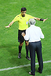(L to R) <br /> Abdulrahman Al Jassim Referee, <br />   Vahid Halilhodzic (JPN), <br /> SEPTEMBER 1, 2016 - Football / Soccer : <br /> FIFA World Cup Russia 2018 Asian Qualifier <br /> Final Round Group B <br /> between Japan - United Arab Emirates <br /> at Saitama Stadium 2002, Saitama, Japan. <br /> (Photo by YUTAKA/AFLO SPORT)