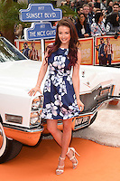 Jess Impiazzi at the premiere of &quot;The Nice Guys&quot; at the Odeon Leicester Square, London.<br /> May 19, 2016  London, UK<br /> Picture: Steve Vas / Featureflash