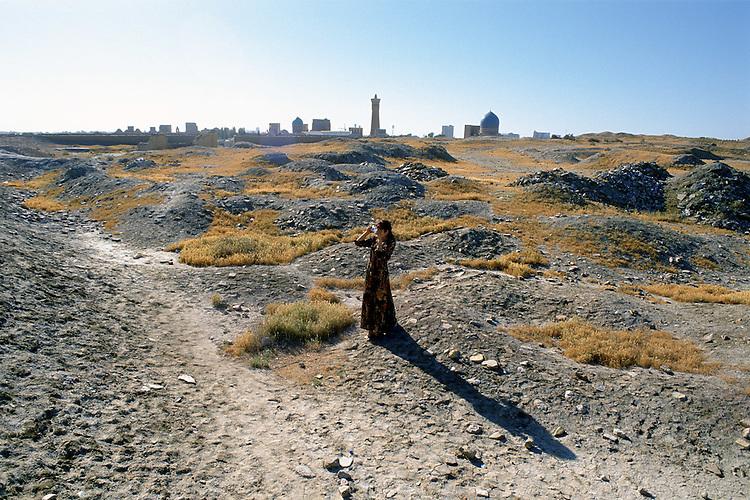 Paesaggi del mondo. Bukhara in Uzbekistan.
