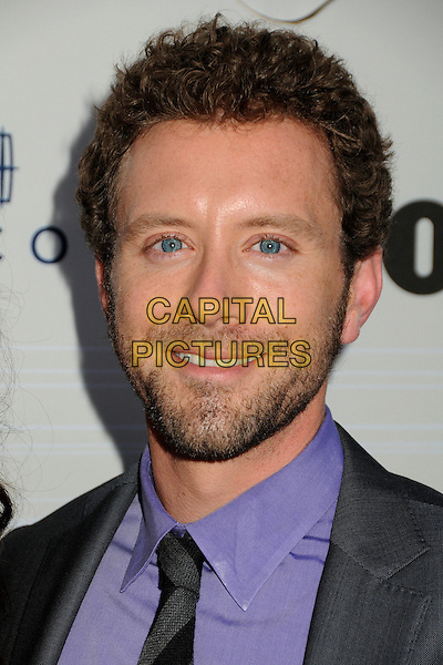 TJ THYNE .Fox Fall Eco-Casino Party 2010 held at BOA Steakhouse, West Hollywood, California, USA, 13th September 2010..portrait headshot beard facial hair purple shirt tie .CAP/ADM/BP.©Byron Purvis/AdMedia/Capital Pictures.