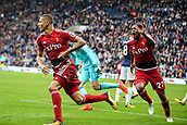 30th September 2017, The Hawthorns, West Bromwich, England; EPL Premier League football, West Bromwich Albion versus Watford; Richarlison of Watford celebrates scoring the equaliser in the last minute of injury time to make it 2-2