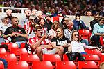 Sunderland fans react to Portsmouth's goal. Sunderland 2 Portsmouth 1, 17/08/2019. Stadium of Light, League One. Photo by Paul Thompson.