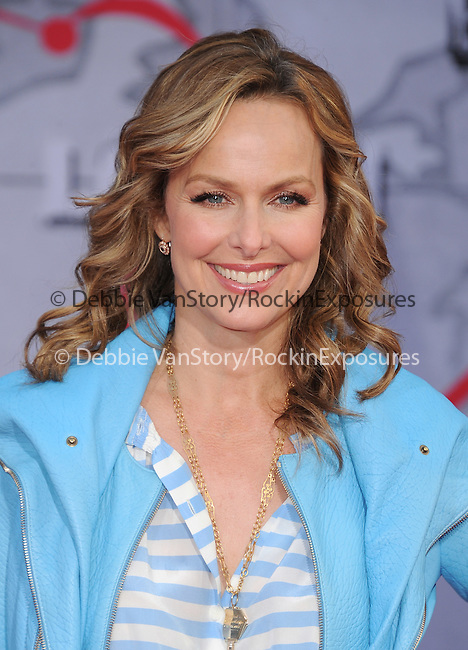 Melora Hardin attends Disney's Muppets Most Wanted World Premiere held at The El Capitan Theatre in Hollywood, California on March 11,2014                                                                               © 2014 Hollywood Press Agency