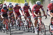 June 17th 2017, Schaffhaussen, Switzerland;  SPILAK Simon (SLO) Rider of Team Katusha - Alpecin during stage 8 of the Tour de Suisse cycling race, a stage of 100 kms between Schaffhaussen and Schaffhaussen
