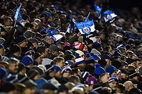 A general view of Bath Rugby supporters in the crowd. European Rugby Champions Cup match, between Bath Rugby and RC Toulon on December 16, 2017 at the Recreation Ground in Bath, England. Photo by: Patrick Khachfe / Onside Images