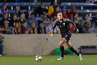 Bridgeview, IL - Saturday August 12, 2017: Alyssa Naeher during a regular season National Women's Soccer League (NWSL) match between the Chicago Red Stars and the Portland Thorns FC at Toyota Park. Portland won 3-2.