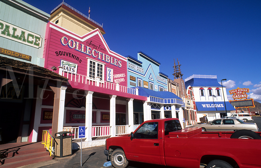 Shops of Boulder, Nevada, USA