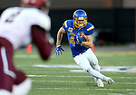 BROOKINGS, SD - OCTOBER 7: Brady Mengarelli #44 from South Dakota State University breaks loose for a big gain against Southern Illinois in the first half of their game Saturday night at Dana J. Dykhouse Stadium in Brookings. (Photo by Dave Eggen/Inertia)