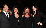 """General Hospital Jacklyn Zeman """"Bobbie Spencer"""" poses with singers Ron and Samantha Sharpe (R) and Barbra Russell. They are the parents of twins Aiden and Connor who played """"Trevor Martin"""" on All My Children. Jackie is honorary chair of The 29th Annual Jane Elissa Extravaganza which benefits The Jane Elissa Charitable Fund for Leukemia & Lymphoma Cancer, Broadway Cares and other charities on November 14, 2016 at the New York Marriott Hotel, New York City presented by Bridgehampton National Bank and Walgreens.  (Photo by Sue Coflin/Max Photos)"""