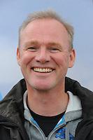 FIERLJEPPEN/POLSSTOKVERSPRINGEN: POLSBROEKERDAM: Tweekamp Holland-Friesland, Holland wint met een verschil van 7.02 meter (395.37) tegen Fryslân (388.35), voorzitter Nederlandse Fierljepbond Pieter Hielema, ©foto Martin de Jong