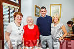 Joesphine Fitzgerald, May Relihan, Thomas and Marie Sugrue from Knocknagoshel enjoying the evening in Bella Bia on Saturday
