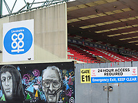 A general view of Sincil Bank, home of Lincoln City FC<br /> <br /> Photographer Andrew Vaughan/CameraSport<br /> <br /> The EFL Sky Bet League Two - Lincoln City v Grimsby Town - Saturday 19 January 2019 - Sincil Bank - Lincoln<br /> <br /> World Copyright © 2019 CameraSport. All rights reserved. 43 Linden Ave. Countesthorpe. Leicester. England. LE8 5PG - Tel: +44 (0) 116 277 4147 - admin@camerasport.com - www.camerasport.com