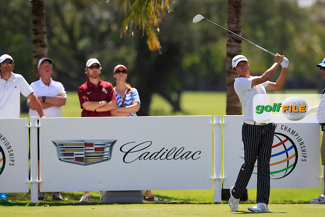 David Lipsky (USA) during the 2nd round at the WGC Cadillac Championship, Blue Monster, Trump National Doral, Doral, Florida, USA<br /> Picture: Fran Caffrey / Golffile