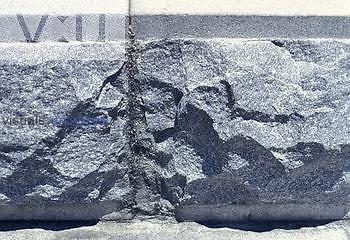 Granite construction stones.