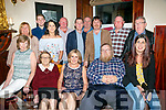 Celebration meal with family and friends at the Grand Hotel for Michael Carroll, Tralee returning from England after 30 years