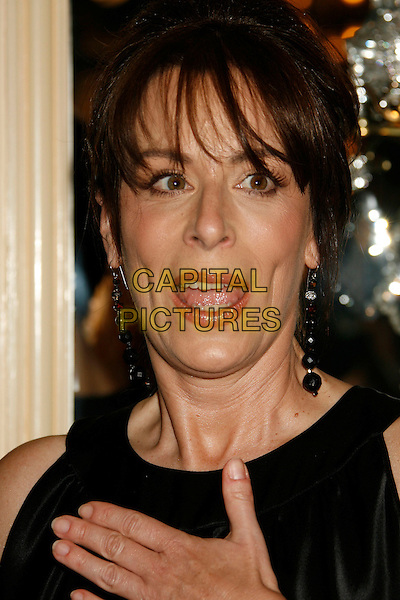 JANE KACZMAREK.2007 Costume Designers Guild Awards held at the Beverly Wilshire Hotel, Beverly Hills, California, USA,.17 February 2007..portrait headshot mouth open funny.CAP/ADM/RE.©Russ Elliot/AdMedia/Capital Pictures.