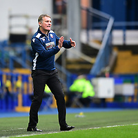 Bolton Wanderers manager Phil Parkinson shouts instructions to his team from the technical area<br /> <br /> Photographer Chris Vaughan/CameraSport<br /> <br /> The EFL Sky Bet Championship - Sheffield Wednesday v Bolton Wanderers - Saturday 10th March 2018 - Hillsborough - Sheffield<br /> <br /> World Copyright &copy; 2018 CameraSport. All rights reserved. 43 Linden Ave. Countesthorpe. Leicester. England. LE8 5PG - Tel: +44 (0) 116 277 4147 - admin@camerasport.com - www.camerasport.com