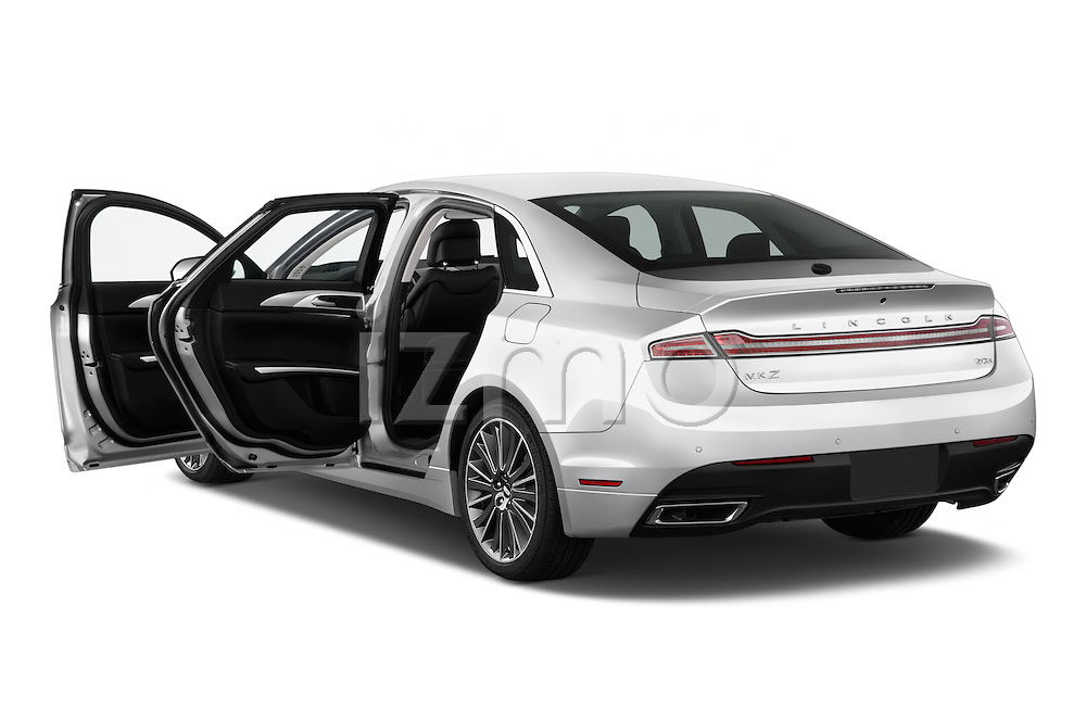 Car images of 2016 Lincoln MKZ Hybrid 4 Door Sedan Doors