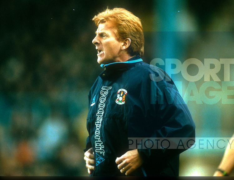 Gordon Strachan manager of Coventry City 1998