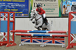 Class 2. British novice. British Showjumping juniors. Brook Farm training centre. Essex. 07/10/2017. MANDATORY Credit Garry Bowden/Sportinpictures - NO UNAUTHORISED USE - 07837 394578
